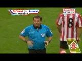 Обзор матча АПЛ 10/11 5-й Тур Сандерленд - Арсенал  18.09.2010