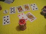 (покер) All in Gex vs Potap (первая раздача в игре=)